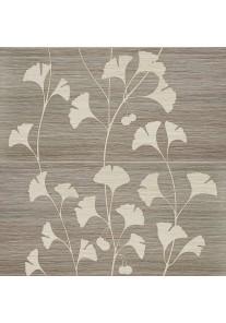 Tubądzin BILOBA grey dekor ścienny 2-elementowy 61,8x60,8