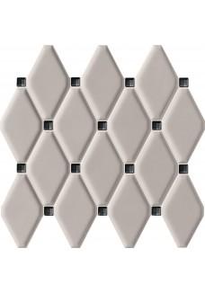 Tubądzin ABISSO Grey mozaika ścienna 29.8x27 G1