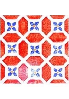 Tubądzin Dekor ścienny Majolika Avignon 13 20x20