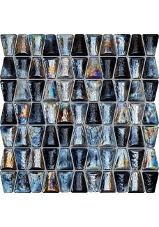 Tubądzin DROPS glass grey 30,4x30,6