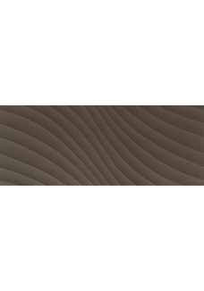 Tubądzin ELEMENTARY brown wave STR 29.8x74.8