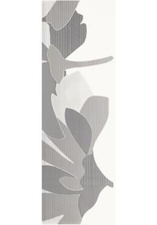 Paradyż  Indy grafit inserto kwiat B 25x75