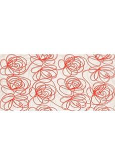 Tubądzin Dekor ścienny Wave Modern red 22,3x44,8