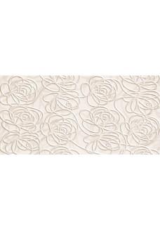 Tubądzin Dekor ścienny Wave Modern white 22,3x44,8