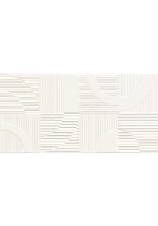 Tubądzin Dekor ścienny Coll Round white STR 29,8x59,8