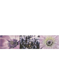 Tubądzin Listwa ścienna Maxima violet 2 44,8x10