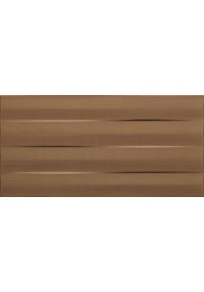 Tubądzin Płytka ścienna Maxima brown STR 22,3x44,8
