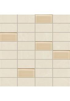 Tubądzin Mozaika ścienna Gobi white 30,8x30,3