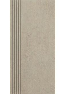 Paradyż Rino grys stopnica prosta nacinana mat 29,8x59,8