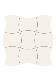 Tubądzin ROYAL PLACE white mozaika ścienna 29.3x29.3