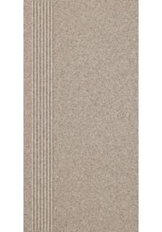 Paradyż SAND mocca stopnica prosta mat 29,8x59,8