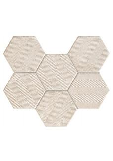 Tubądzin SFUMATO hex mozaika ścienna 28,9x22,1