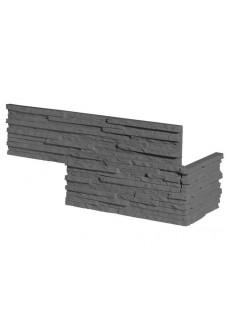 Stegu PALERMO 2 graphite narożnik (8szt. = 1,13mb)