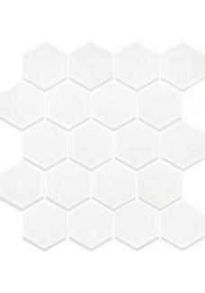 Paradyż MARGARITA Mozaika Szklana Ivory Heksagon 28x25,8