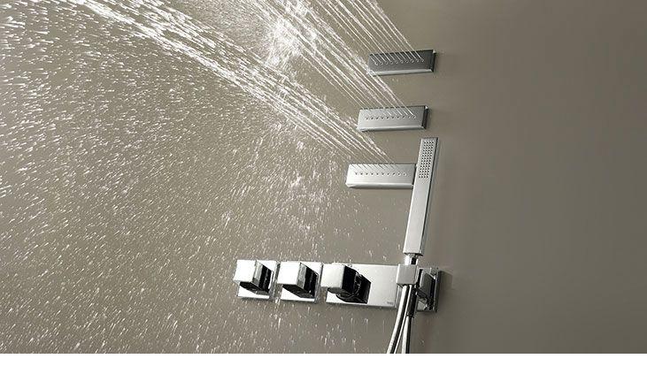 Przestrzeń prysznica
