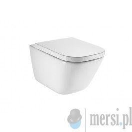 ROCA Miska WC Podwieszana RIMLESS A34647L000 Biały