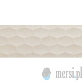 Tubądzin BELLEVILLE White 74,8x29,8 dekor