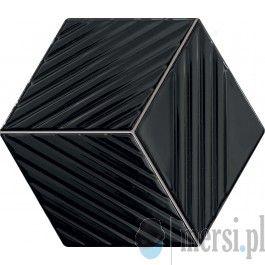 Tubądzin COLOUR Black 22,6x19,8