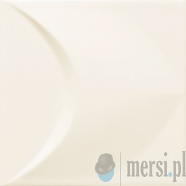 Tubądzin COLOUR White STR 2 14,8x14,8