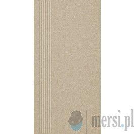 Paradyż SAND beige stopnica prosta mat 29,8x59,8