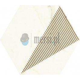 Paradyż CALACATTA Hexagon Mat C 17,1x19,8