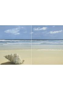 Paradyż Acapulco blue panel plaża 4x25x40