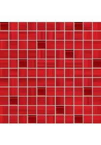 Tubądzin WAVE red mozaika ścienna 30x30