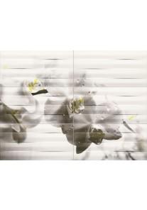 Tubądzin MAXIMA black 2 obraz ścienny 6-elementowy 89,8x67,3