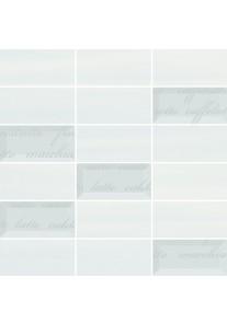 Paradyż Chiara Bianco/Azul mozaika cięta mix 29,8x29,8 G1