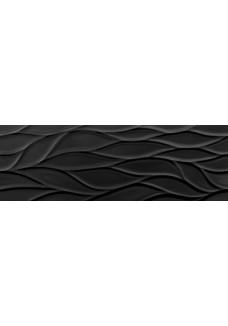 Saloni JEWELL Fluctus Negro 30x90