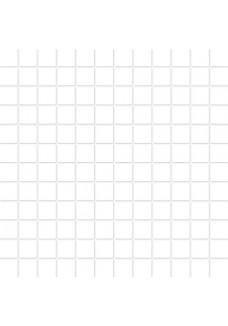 Paradyż Abrila Bianco mozaika mix 29,8x29,8 G1