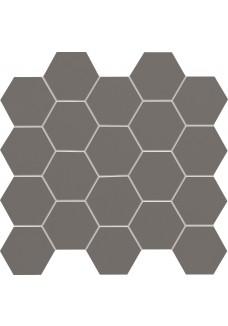 Tubądzin ALL IN WHITE / Grey mozaika ścienna 30,6x28,2 G1