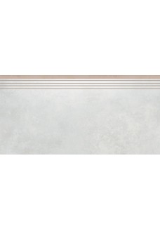 Cerrad APENINO Bianco lappato stopnica 29,7x59,7