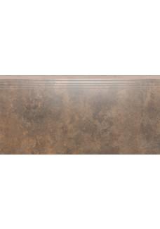 Cerrad APENINO Rust lappato stopnica 29,7x59,7
