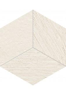 Tubądzin BALANCE Ivory STR mozaika ścienna 19,8x22,6