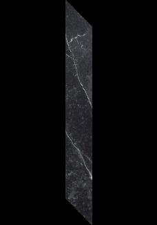 Paradyż BARRO Nero listwa lewa mat 7,2x59,8