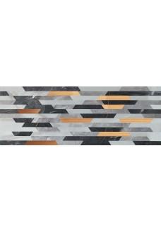 Tubądzin BRAINSTORM Grey dekor 32,8x89,8