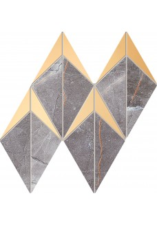 Tubądzin BRAINSTORM Graphite mozaika ścienna 19,6x23,1