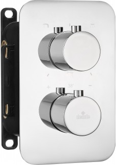 Deante Box Element zewnętrzny do BOXa termostatycznego - okrągły