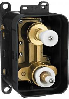 Deante Box BOX podtynkowy termostatyczny z przełącznikiem natrysku