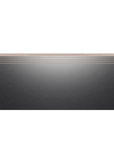 Cerrad CAMBIA Black 30x60 lappato stopnica