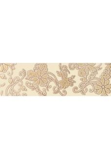 Paradyż Delicate Beige Kwiaty listwa 15x50 G1