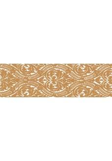 Paradyż Delicate Gold Arabeska Listwa 15x50 G1