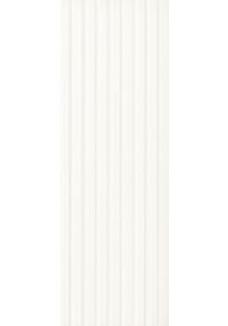 Paradyż ELANDA Bianco  (struktura stripes) 25x75cm
