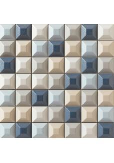 Tubądzin ELEMENTARY blue mozaika ścienna 31.4x31.4