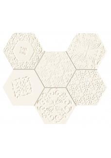 Tubądzin ELEMENTARY hex mozaika ścienna 28.9x22.1