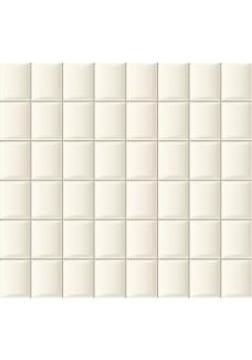 Tubądzin ELEMENTARY white mozaika ścienna 32.1x30.0