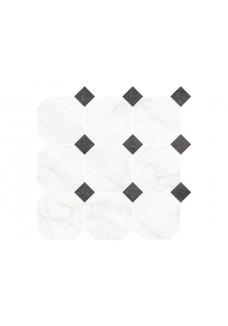 Nowa Gala FROST WHITE FW01 mozaika octagon mix 33x33