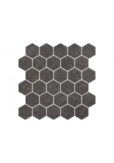 Nowa Gala IMPERIAL GRAPHITE IG13 mozaika heksagon 27x27