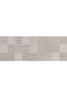 Tubądzin INTEGRALLY grey dekor ścienny 32,8x89,8